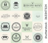 label badges and stamps set for ... | Shutterstock . vector #363347324