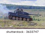 tiger tank | Shutterstock . vector #3633747