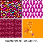 collection love cards | Shutterstock .eps vector #36339091