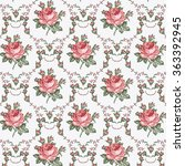 seamless classic pattern.... | Shutterstock .eps vector #363392945