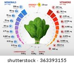 vitamins and minerals of... | Shutterstock .eps vector #363393155