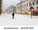 helsinki  finland   jan 12 2016 ... | Shutterstock . vector #363407837