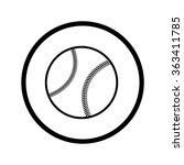 baseball icon | Shutterstock .eps vector #363411785