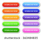 collection of 'download now'... | Shutterstock .eps vector #363484835