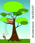 tree life   Shutterstock . vector #36350107