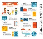 travel infographic. | Shutterstock .eps vector #363518561