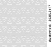 grey and white geometric... | Shutterstock .eps vector #363519647