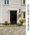 stavanger wood house  typical... | Shutterstock . vector #36352750