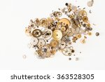 detail of several clockworks... | Shutterstock . vector #363528305