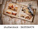 photo album with photos of...   Shutterstock . vector #363536474