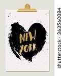 modern and stylish new york...   Shutterstock .eps vector #363560084