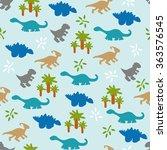 vector illustration. seamless... | Shutterstock .eps vector #363576545