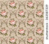 seamless classic pattern.... | Shutterstock .eps vector #363587339