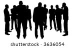 business people | Shutterstock .eps vector #3636054