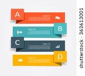 banner infographic design... | Shutterstock .eps vector #363613001