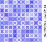 retro vector blue pattern | Shutterstock .eps vector #36362413