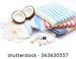 traditional turkish bath... | Shutterstock . vector #363630557