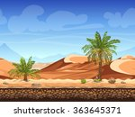 vector illustration   seamless... | Shutterstock .eps vector #363645371