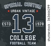 T Shirt Print Design. Vintage...