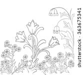 coloring book. coloring. vector ... | Shutterstock .eps vector #363675341