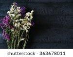 Bouquet Of Dried Wild Flowers...