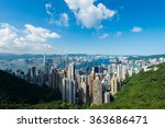 view of hong kong during the day | Shutterstock . vector #363686471