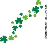 happy st. patrick's day card...   Shutterstock .eps vector #363691535