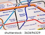 Russell Square Station On A Ma...