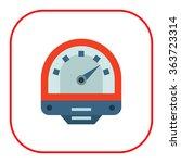 parking meter icon | Shutterstock .eps vector #363723314