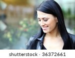closeup portrait of a happy... | Shutterstock . vector #36372661