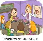 illustration of a sex education ...   Shutterstock .eps vector #363738641