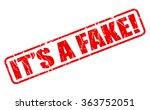 its a fake red stamp text on...   Shutterstock .eps vector #363752051