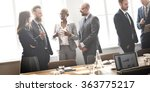business group meeting... | Shutterstock . vector #363775217