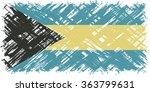 bahamas grunge flag. raster...   Shutterstock . vector #363799631