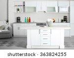 new designed kitchen interior | Shutterstock . vector #363824255