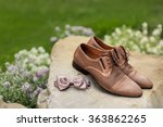 mans leather classic shoes   Shutterstock . vector #363862265