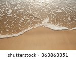 Sand Beach And Wave At Koh...