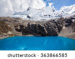 Small photo of Lake Laguna 69 and Chakrarahu mountain are situated in the Huascaran National Park in the Andes of Peru.