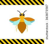 cartoon bug icon   Shutterstock .eps vector #363873587
