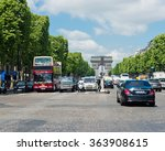 paris  may 22 2015 a lot of... | Shutterstock . vector #363908615