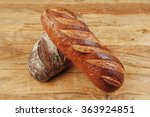 different rye and white flour... | Shutterstock . vector #363924851