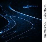 abstract vector background.... | Shutterstock .eps vector #363928721