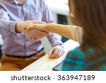 young businessman and...   Shutterstock . vector #363947189