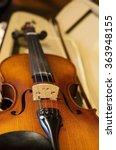 closeup of a beautiful violin... | Shutterstock . vector #363948155