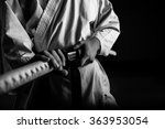 close up of young martial arts...   Shutterstock . vector #363953054