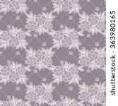 seamless  lace  floral  ... | Shutterstock .eps vector #363980165