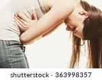 woman suffering from... | Shutterstock . vector #363998357