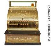 Vintage Ornamental Cash...