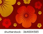 pattern asian style chinese... | Shutterstock . vector #364004585