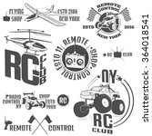 set of radio controlled machine ...